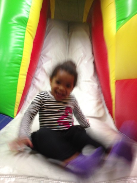 Fun at The Bounce House!