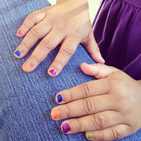 Scented Fingernail Polish!