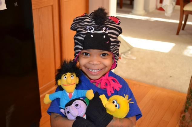Cub 4 and her Sesame Street Friends