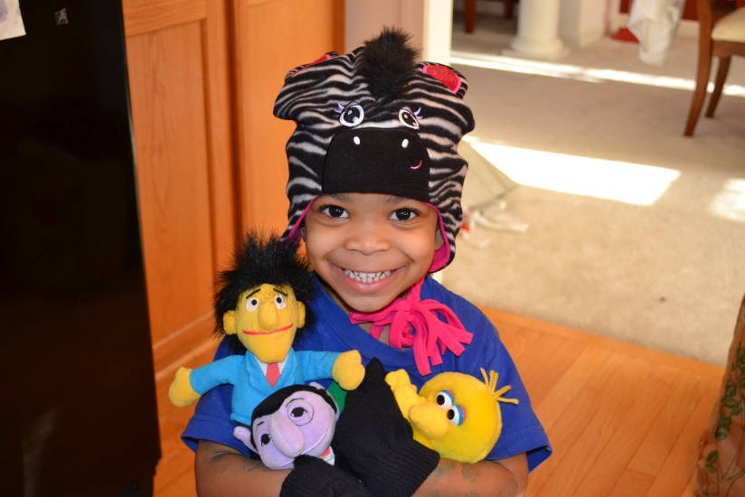 Cub 4 and her Sesame Street Friends