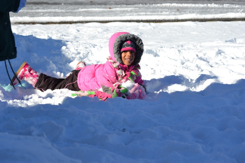 Cub 3 after snow storm #1
